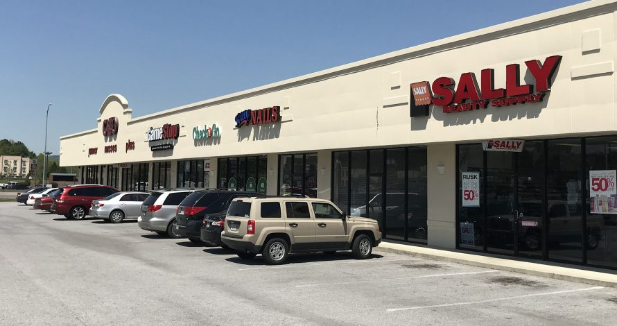 Attalla Plaza Shopping Center in Attalla, AL