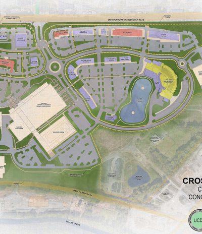 Crossplex Village - Conceptual Master Plan